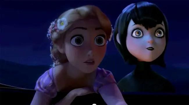 Rapunzel y Mavis