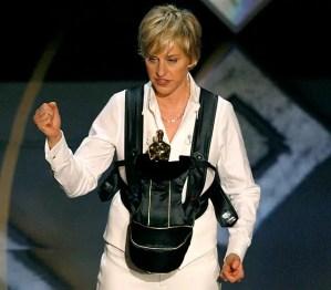 Ellen se prepara para los Oscars del 2014