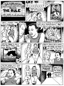 """El test de Bechdel y su relación con el cómic lésbico """"Unas Bollo de Cuidado"""""""