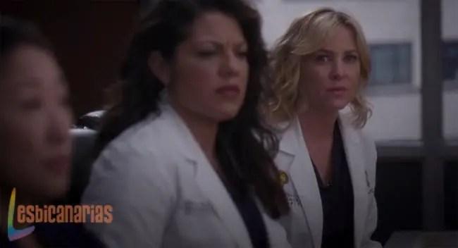 Callie y Arizona reunidas