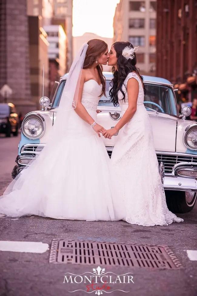 Imágenes de bodas lésbicas