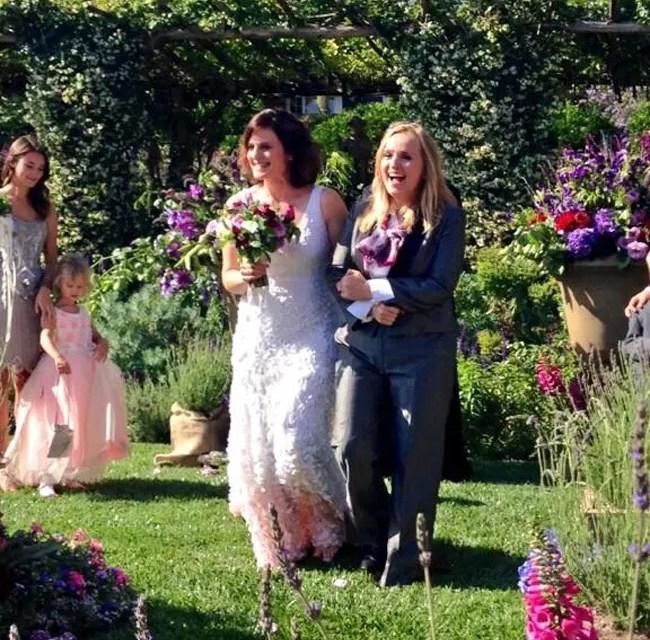 Melissa Etheridge se nos casó de nuevo