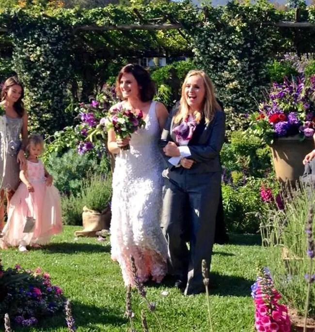 Melissa Etheridge se casó