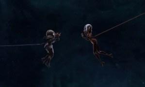 Órbitas: un cortometraje lésbico animado precioso