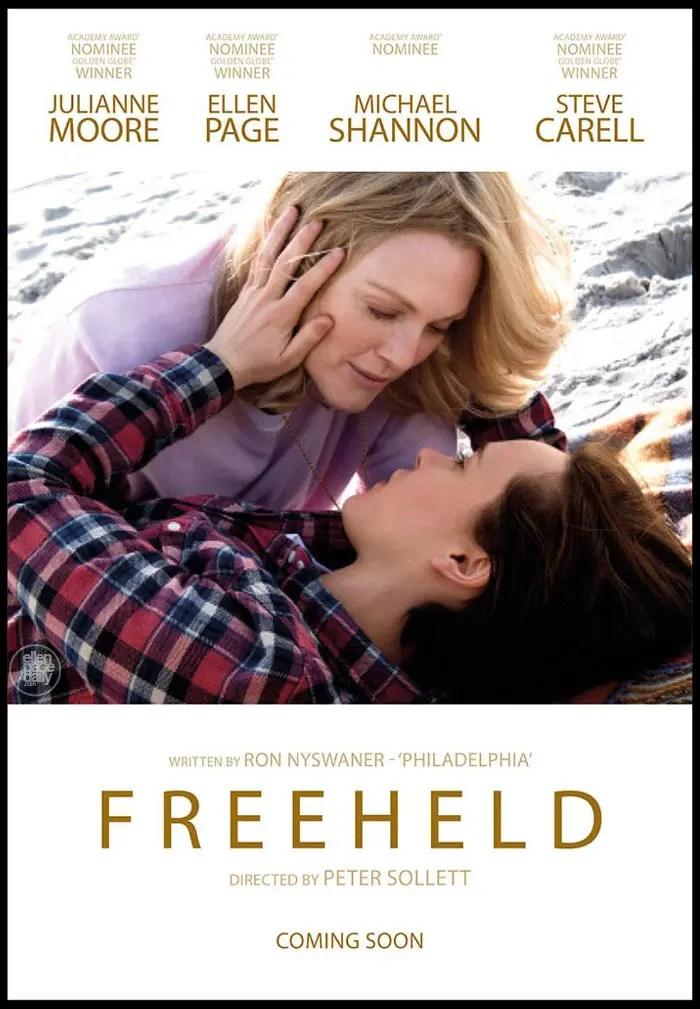 Julianne Moore y Ellen page en Freeheld