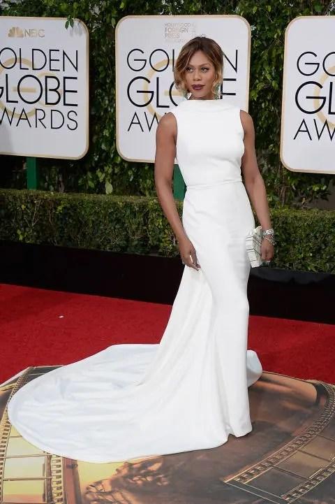 Laverne Cox Golden Globes 2016