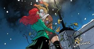 Harley Quinn y Poison Ivy se besan en Bombshells