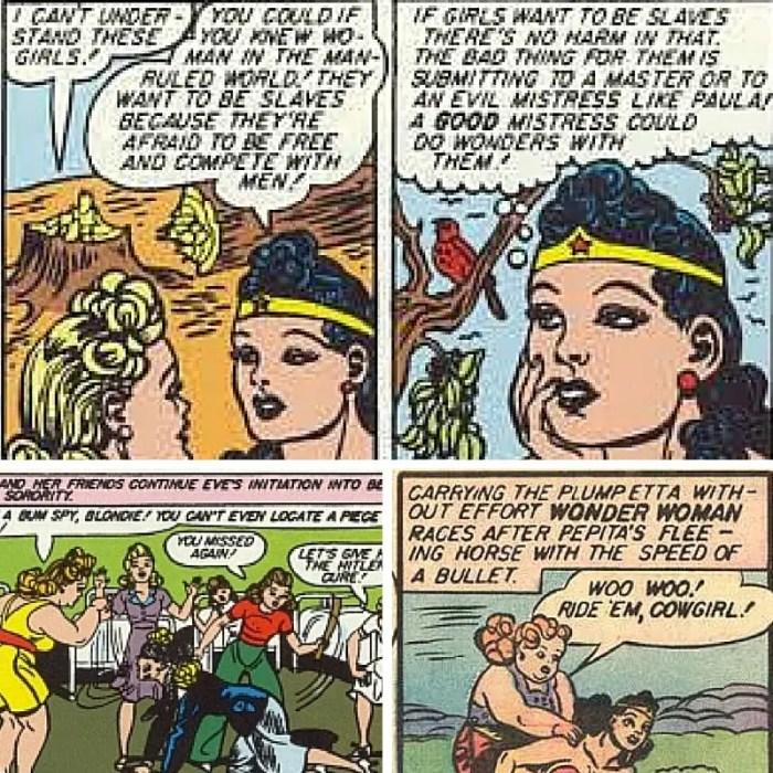 Mujer Maravilla retro bisexual