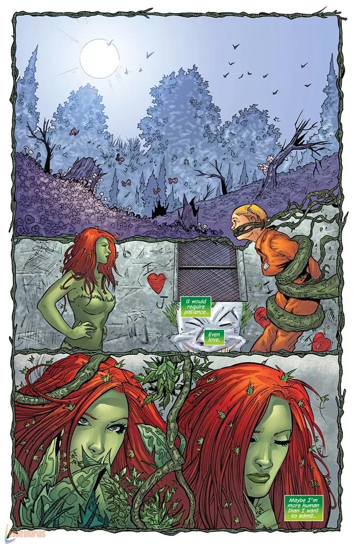 Poison Ivy decide salvar a Harley Quinn