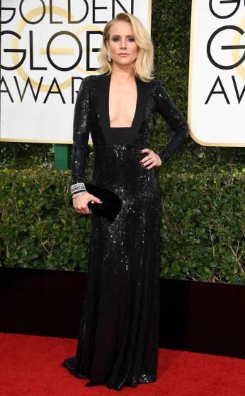 Kristen Bell Golden Globes 2017
