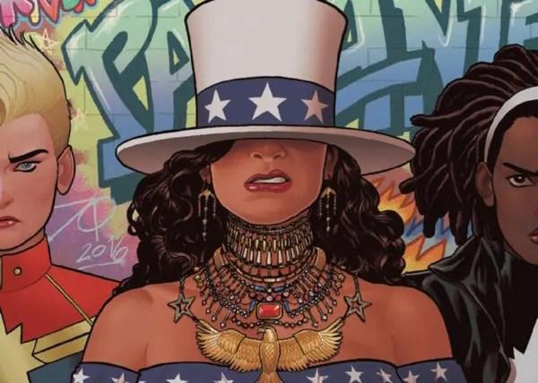 America 2: The Girls Wanna Be Her – cómics lésbicos