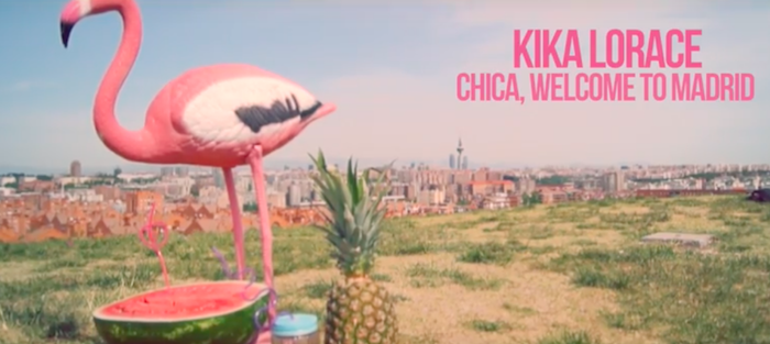 Kika Lorace nos canta 'Chica, Welcome to Madrid'