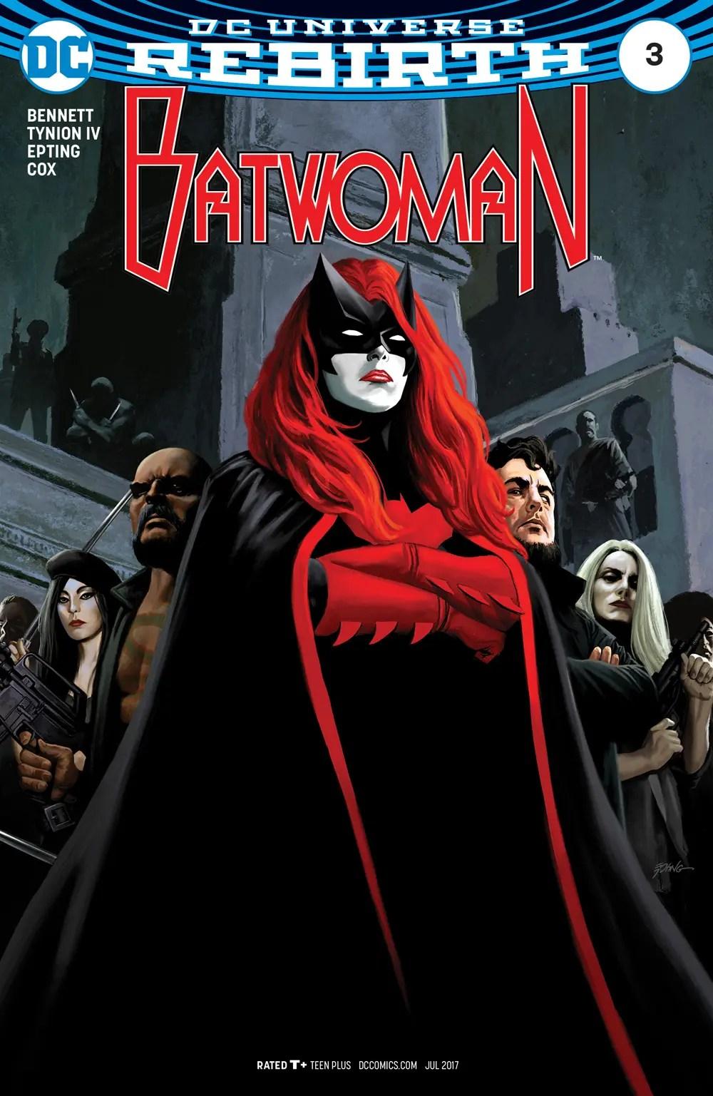 Batwoman 3 portada