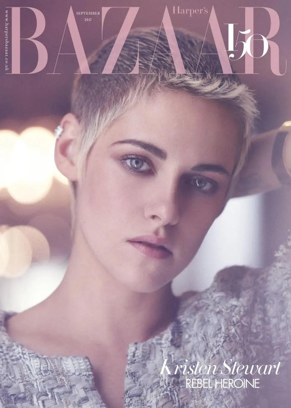 Kristen Stewart portada Bazaar