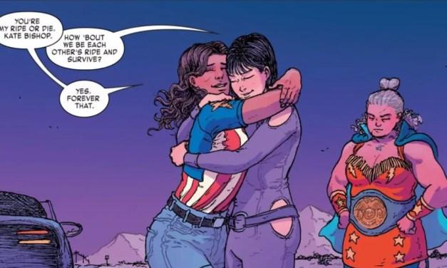 "America 6: ""Your Hearth Is True"" – Cómics lésbicos"