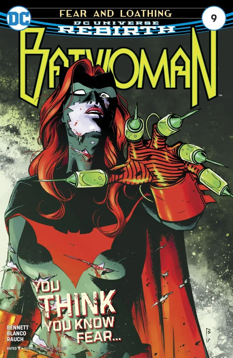 Batwoman 9 portada
