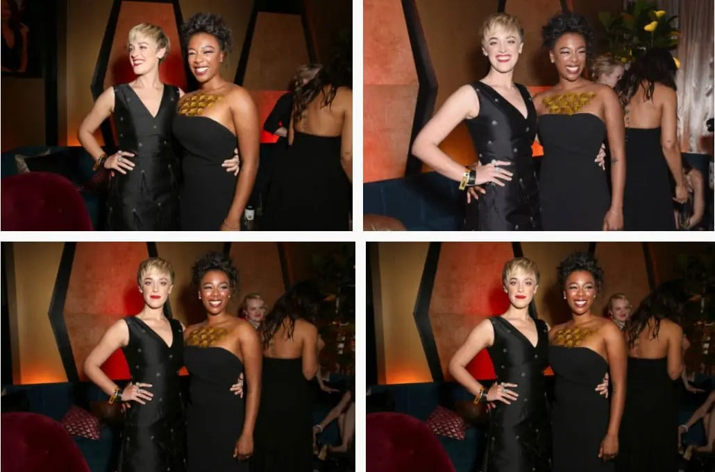 Samira Wiley y Lauren Morelli