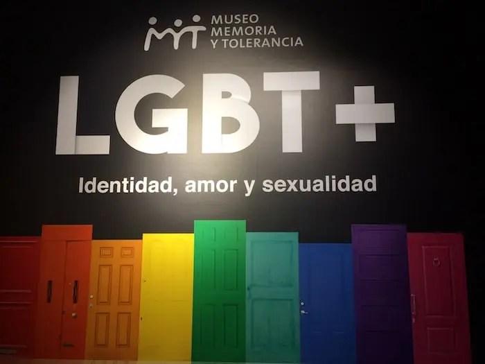 El Museo de Memoria Y Tolerancia sale del closet