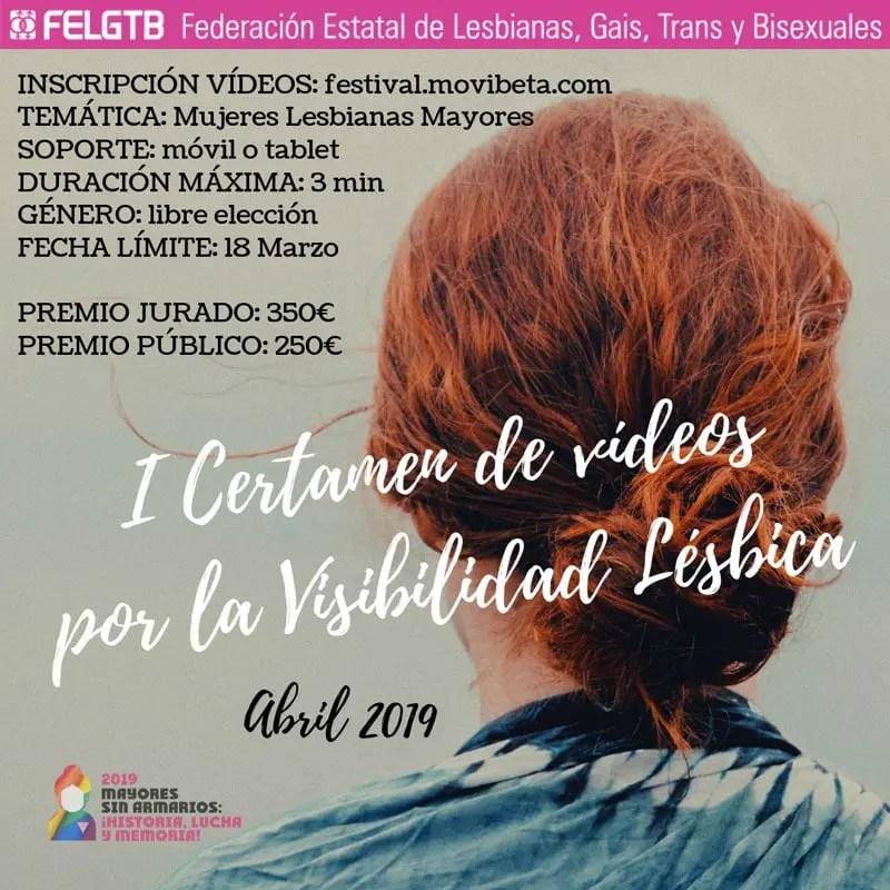 el certamen para la visibilidad lésbica de la FELGTB