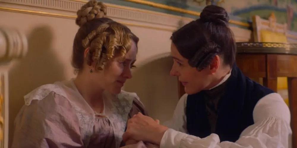 Anne Lister consuela a Ann Walker