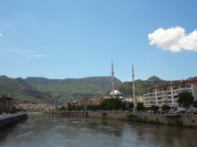 Petite vue de la ville d'Amasya