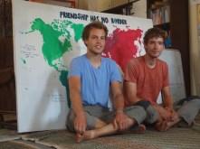 """On participe au projet d'Alireza """"Friendship has no border"""""""