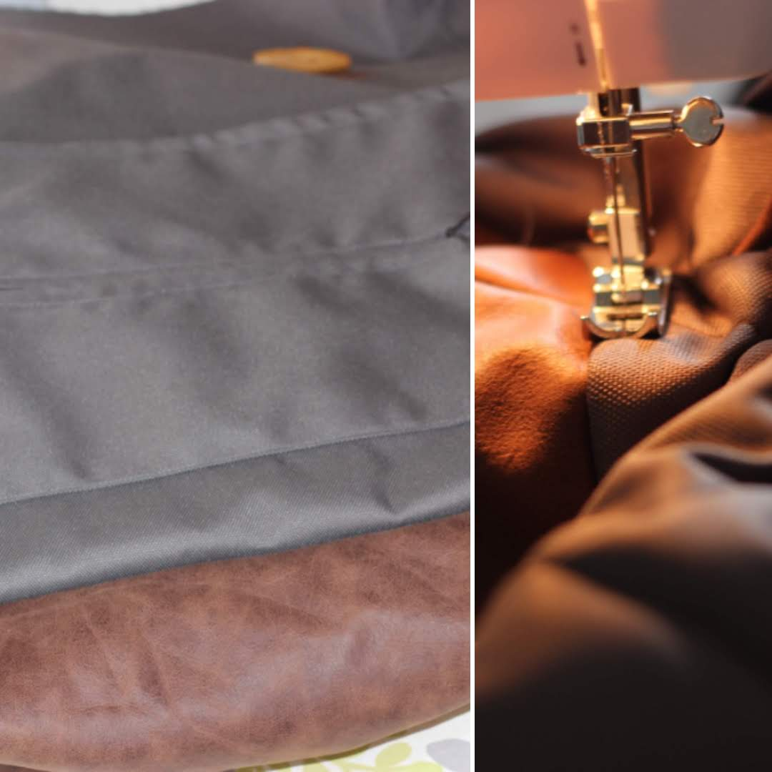 Over-stitching the bottom