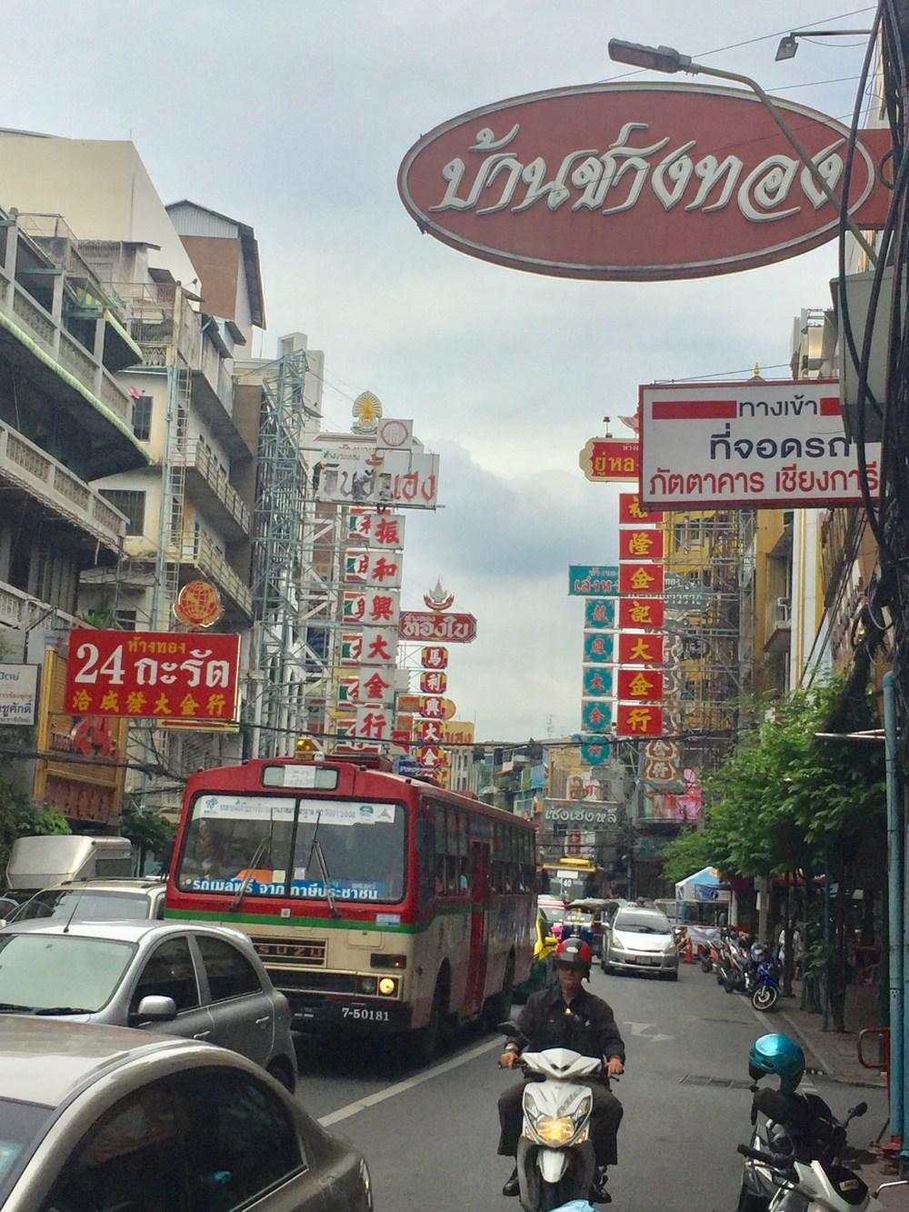 Chinatown Bangkok par les bons plans de stef