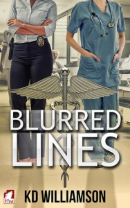 Blurred Lines by KD Williamson cover