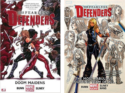 Fearless Defenders Vols 1 and 2