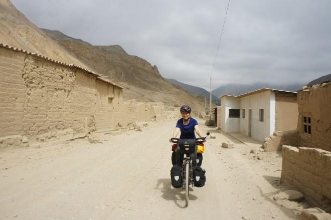 Mirador, village désert suite au tremblement de terre de 1970