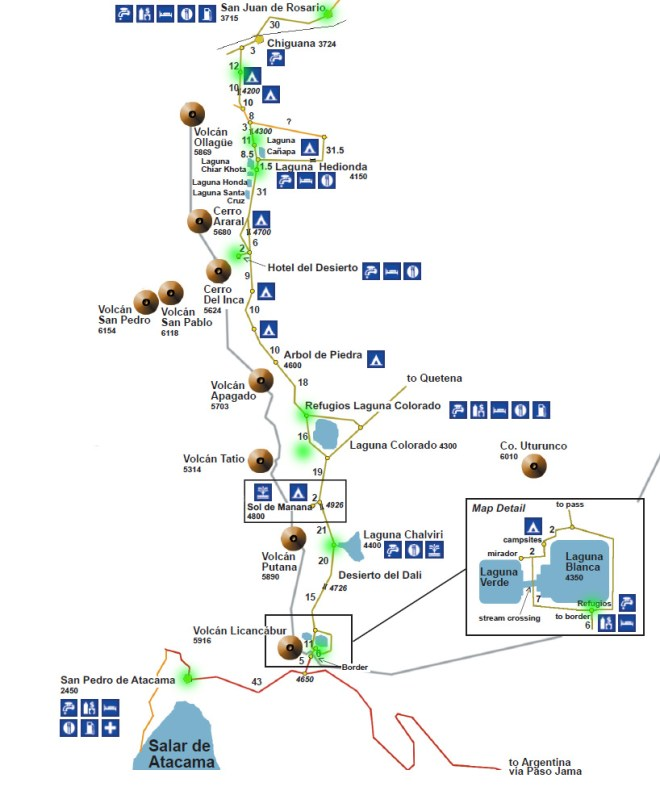 carte du Sud Lipez