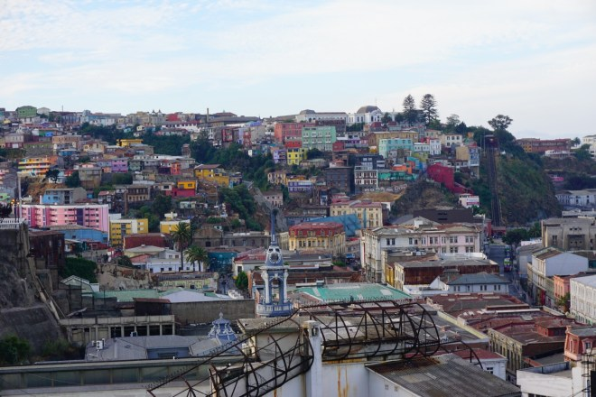 Vaparaiso, ville colorée