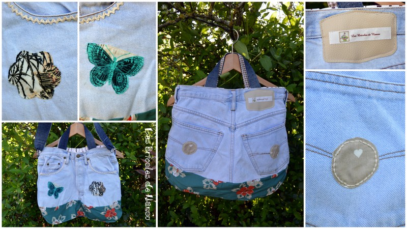 sac jeans customisation recyclage