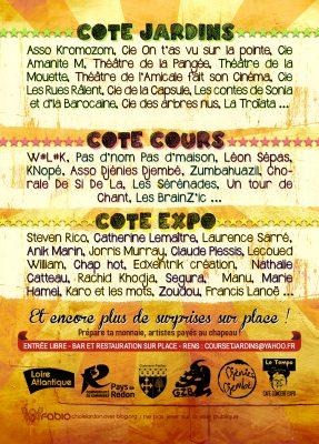 Festival des arts Cours et Jardins à GUEMENE PENFAO (44)