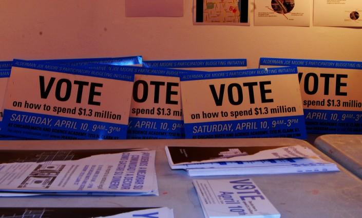 « Votez pour savoir savoir comment dépenser 1,3 M. $ ! » // CC Samuel A. Love