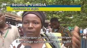 Budget participatif   sud kivu   Congo   film