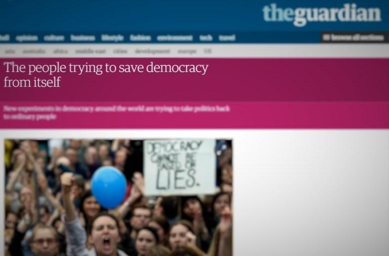 The Guardian, participatory budgeting, budget participatif