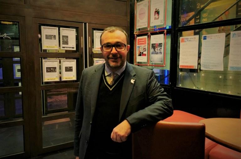 Giovanni Allegretti, lors de l'AG de l'Institut de la Concertation et de la Participation citoyenne, à Paris le 10 novembre dernier