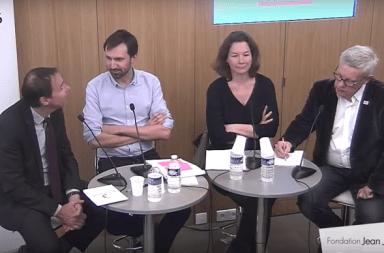 Table ronde du 12 avril à la Fondation Jean Jaurès, Antoine Bézard, Pauline Véron et Loïc Blondiaux
