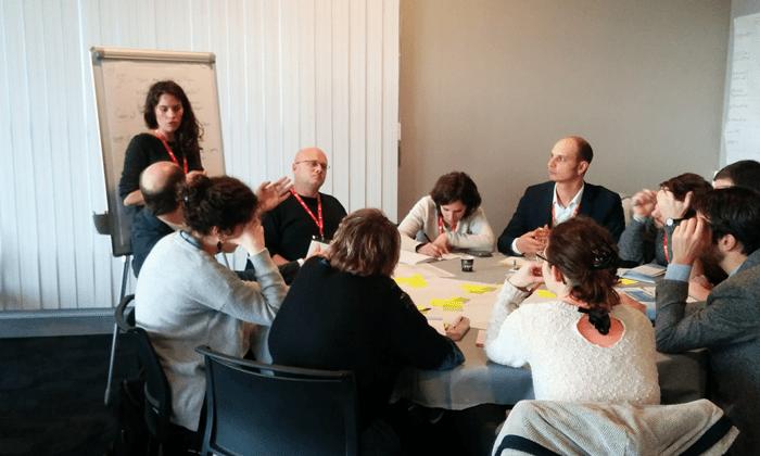 Atelier Budget participatif aux Rencontres nationales de la participation à Lille, le 7 mars 2018