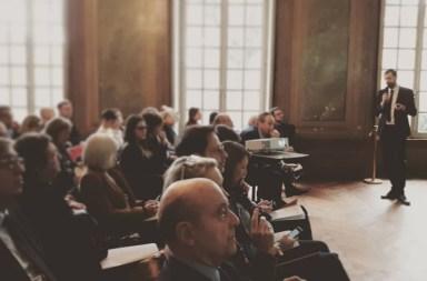 Présentation de l'Enquête nationale Budgets participatifs aux élus et aux cadres de la ville et de la Métropole de Bordeaux par Antoine Bézard