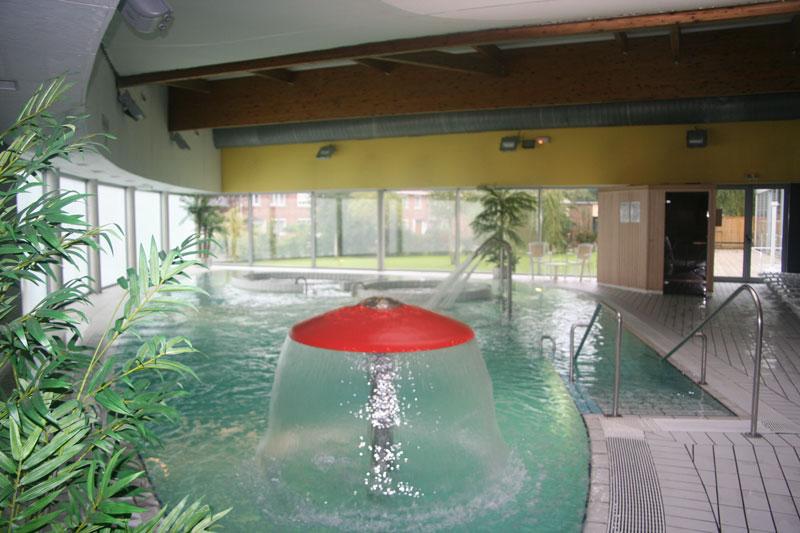 Espace dtente de la piscine de Wasquehal  Les