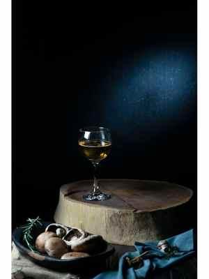 Vin blanc et Champignons