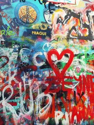 Graffiti coeur
