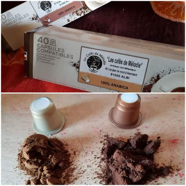 Capsules de café compatibles Nespresso®