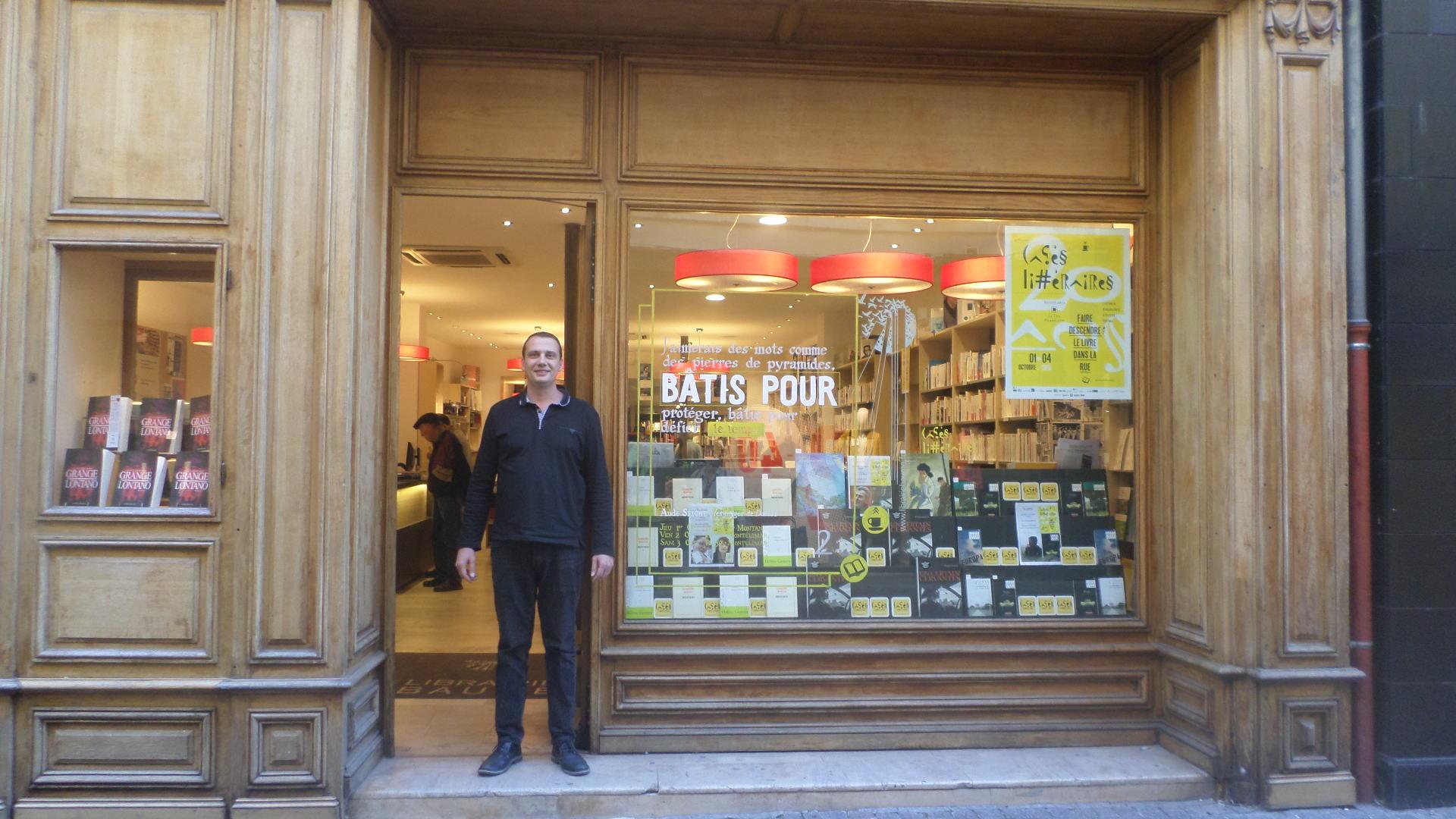 Les vitrines  Pierrelatte et  Montlimar  les cafs littraires