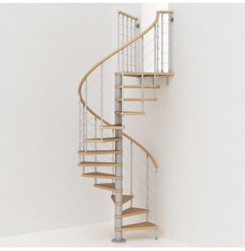 Escaliers Droit Tournant Colimacon Gain D Espace Metal Exterieur L Escalier Contemporain