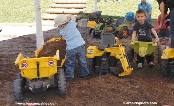 le chantier de sable