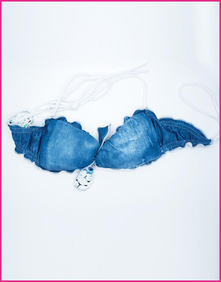 Bikini Jeans - Costume da bagno fatto a mano Les Caprices